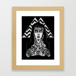 She's Filled with Secrets - Laura Palmer - Twin Peaks Framed Art Print