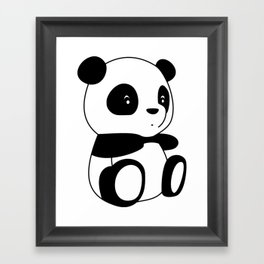 Pandi Framed Art Print
