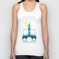 amsterdam Tank Tops featuring Amsterdam by Milli-Jane