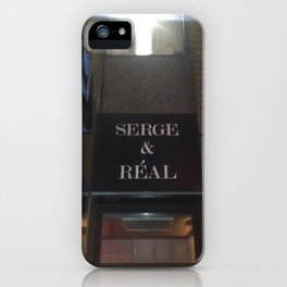 Serge Is Real - 88 Light iPhone Case