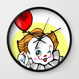 Kawaii Pennwise the Winking Clown Wall Clock