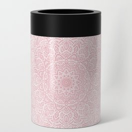 Most Detailed Mandala! Rose Gold Pink Color Intricate Detail Ethnic Mandalas Zentangle Maze Pattern Can Cooler