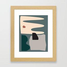 // Shape study #21 Framed Art Print