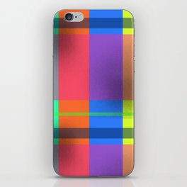 Rectangles in Square iPhone Skin