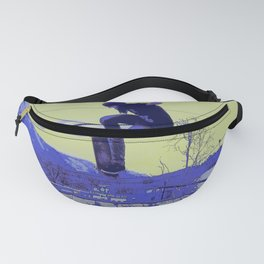 Getting Air - Skateboarder Fanny Pack
