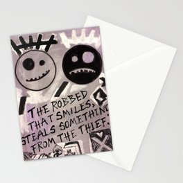The Robbed Stationery Cards