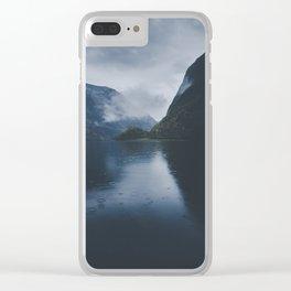 Gudvangen Clear iPhone Case