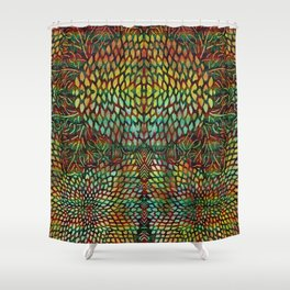 Tree of Life - The Sacred Tree Shower Curtain
