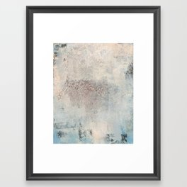 pastel & textured Framed Art Print
