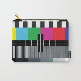 Tv Color Test Carry-All Pouch