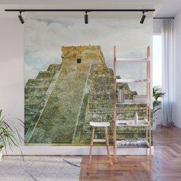 Chichen Itza pyramid Wall Mural