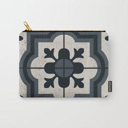 Vintage tiles - floral design Carry-All Pouch
