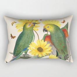 Oh My Parrot II Rectangular Pillow