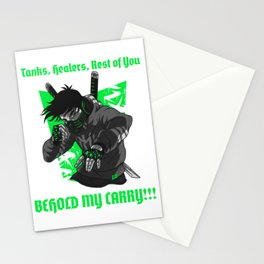 Behold My Carry!!! Stationery Cards