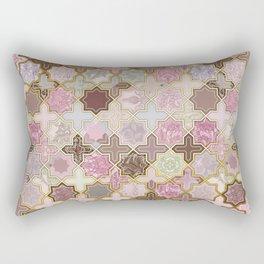Neapolitan Geometric Tile Pattern Rectangular Pillow