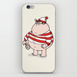Where's Willy? iPhone Skin