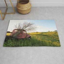 Farming Past Rug