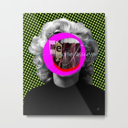 Another Portrait Disaster · M Metal Print