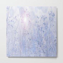 Winter Sparkle On A Sunny Frosty Day #decor #buyart #society6 Metal Print