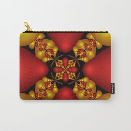 Ruby In Gold Carry-All Pouch