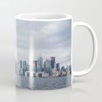 toronto Mugs featuring Toronto by L. Doan