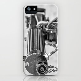 Vickers Machine Gun iPhone Case