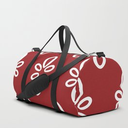 Oval Motif Duffle Bag