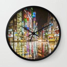 Rain In Japan Wall Clock