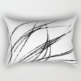 Plume- A Feather Study 3 Rectangular Pillow