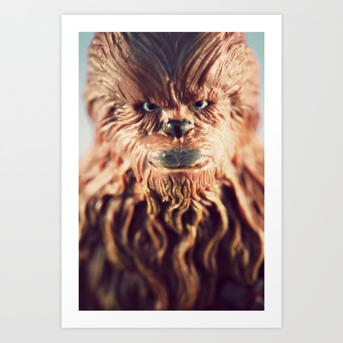 Not Wise To Upset A Wookie Art Print