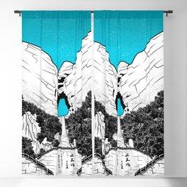 Heaven's Gate Tainmen Mountain Blackout Curtain