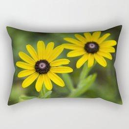 Double Daisies Rectangular Pillow