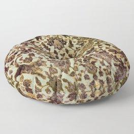 Persian Damask in Mountain Floor Pillow