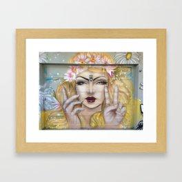 Flower Child by Artist: Deity  Framed Art Print