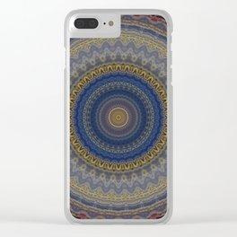 Recreational Maylanta Mandala 84 Clear iPhone Case