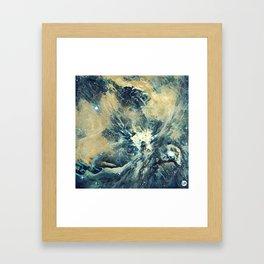 ALTERED Sharpest View of Orion Nebula Framed Art Print