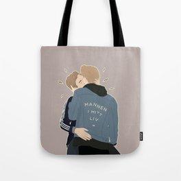 MANNEN I MITT LIV Tote Bag