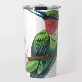 Summer Hummingbird Travel Mug