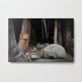 Invading the wilderness Metal Print
