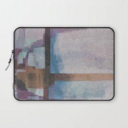 Purple Stroke Laptop Sleeve