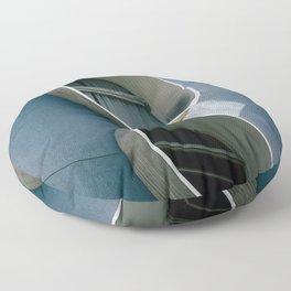 Pod Architecture Floor Pillow