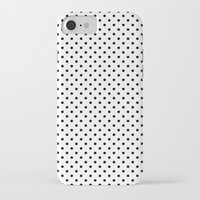 dots iPhone & iPod Cases featuring Dots by Kings in Plaid