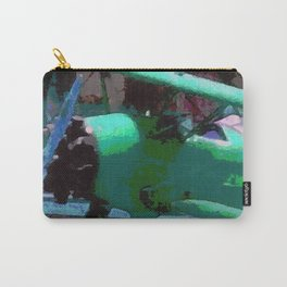 Model Plane Abstract Carry-All Pouch