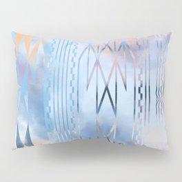 Blue Tribal No.1 Pillow Sham