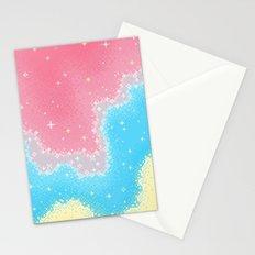 Genderflux Pride Flag Galaxy Stationery Cards
