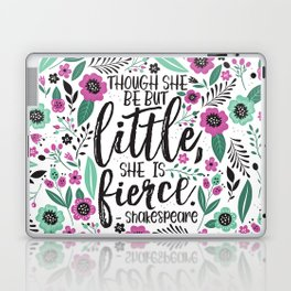 Little and Fierce Laptop & iPad Skin