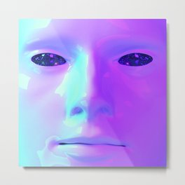 Face Aestheitic 1 Metal Print