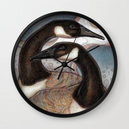 Canda Geese Wall Clock