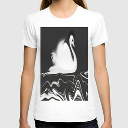 Swan Painting T-shirt