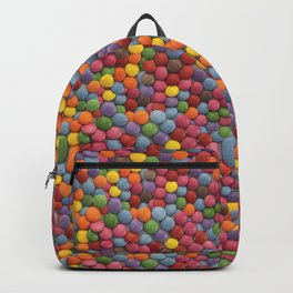 Candy-Coated Milk Chocolate Candy Pattern Backpack